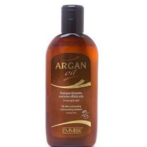 Шампунь «Эффект шелка» с аргановым маслом EMMEBI Argan silk effect shampoo