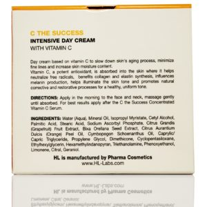 Интенсивный дневной увлажняющий крем с витамином C C the SUCCESS Intensive Day Cream Holy Land Cosmetics