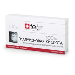 Гиалуроновая кислота низко- и высокомолекулярная гиалуроновая кислота TETe Cosmeceutical