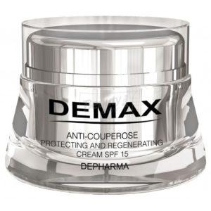 Защитный крем «Антикупероз» СПФ 15 Демакс DEMAX Anti-couperose protecting and regenerating cream SPF 15