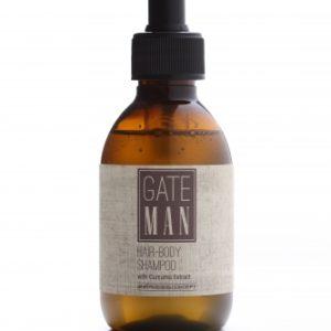 GATE MAN Hair-Body Shampoo Мужской шампунь для волос и тела, Эмеби