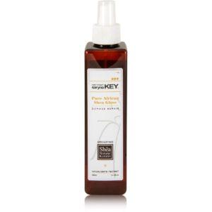 Спрей-блеск с маслом ши для поврежденных волос Saryna Key Damage Repair Keratin Treatment Pure African Shea Gloss