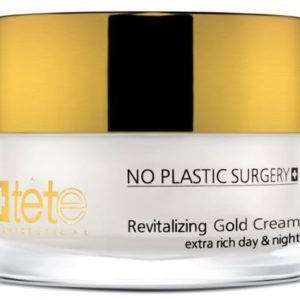 Revitalizing Gold Cream Омолаживайщий крем с коллоидным золотом, TETe Cosmeceutical