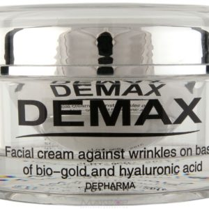 Крем для лица на основе био–золота и гиалуроновой кислоты DEMAX Facial cream against wrinkles on basis of bio-gold and hyaluronic acid