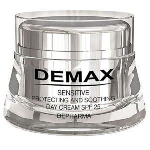 Защитно – успокаивающий крем СПФ 25 Демакс  Demax Sensitive Protecting Day Cream SPF 25