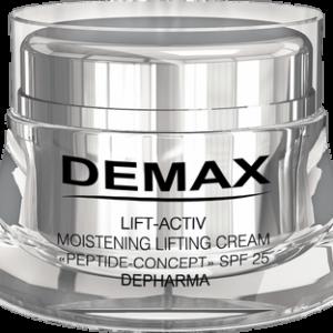 Увлажняющий лифтинг-крем SPF 25 Demax Peptide Concept DEMAX