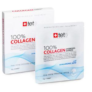 Collagen Hydrogel Mask TETe Cosmeceutical Гидрогелевая коллагеновая маска,Швейцария, упаковка-4шт