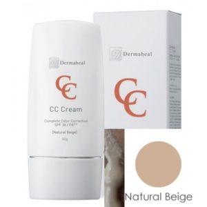 Dermaheal CC Сream SPF 30 Natural Beige Солнцезащитный крем с тоном Дермахил натуральный бежевый