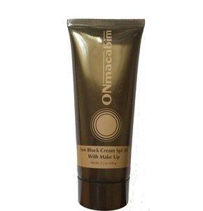 Солнцезащитный крем SPF30 с тональным эффектом Онмакабим PR Sun Block Cream Оnmacabim