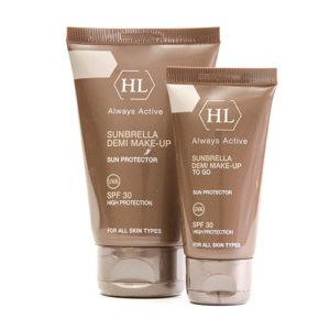 Солнцезащитный крем с тоном Холи Ленд  Sunbrella SPF 30 Holy Land Cosmetics