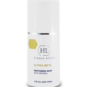 Обновляющее мыло HOLY LAND ALPHA-BETA & RETINOL Restoring Soap