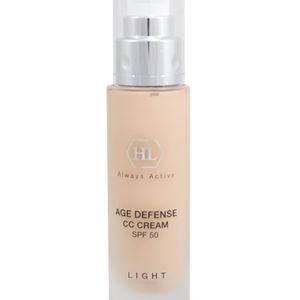Age Defense CC Cream Light SPF 50 Антивозрастной солнцезащитный крем, светлый тон, Холи Ленд