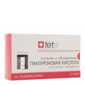 Гиалуроновая кислота + Экстракт плаценты /Hyaluronic Acid + Placental Extract Tete Cosmeceutical