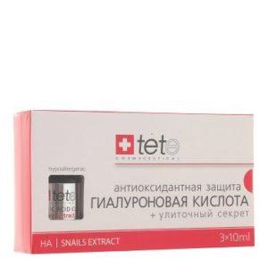 Гиалуроновая кислота + Улиточный Секрет / Hyaluronic Acid + Snail Extract, Tete Cosmeceutical