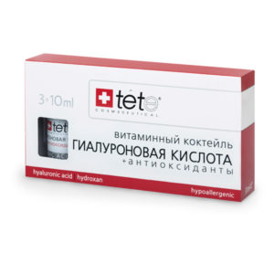 Гиалуроновая кислота + Антиоксиданты Hyaluronic Acid + Antioxidants Tete