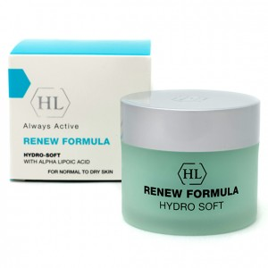 Увлажняющий крем с СПФ-12 RENEW Formula Hydro-Soft Cream SPF 12 Holy Land