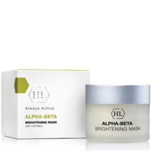 Подтягивающая осветляющая маска ALPHA-BETA & RETINOL Brightening Mask Холи Ленд