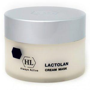 LACTOLAN Cream Mask Питательная восстанавливающая маска Холи Ленд