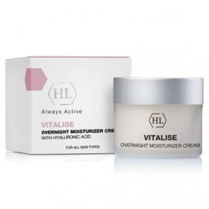 VITALISE Overnight Moisturizer Cream Смягчающий, питательный крем Holy Land