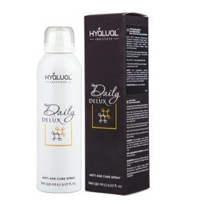 Спрей для лица Daily Delux spray Hyalual, new , Италия