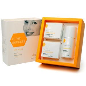 Набор для профилактики старения и восстановления кожи  Holy Land C the Success Anti aging Kit