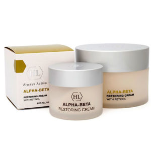 Восстанавливающий крем ALPHA-BETA & RETINOL Restoring Cream Холи Ленд