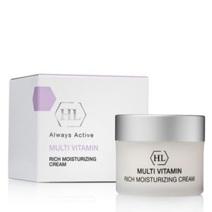 Multivitamin Rich Moisturizing Cream Увлажняющий крем с комплексом витаминов Holy Land