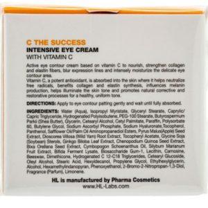 Интенсивный крем для век C the SUCCESS Intensive eye cream Holy Land