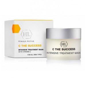 C the SUCCESS Intensive Treatment Mask Интенсивная ухаживающая маска на основе витамина C Holy Land Cosmetics