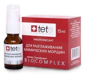 Биокомплекс «миорелаксант» для разглаживания мимических морщин TETe
