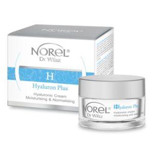 NOREL HYALURONIC CREAM MOISTURING AND BALANCING Увлажняющий гиалуроновый крем для жирной кожи