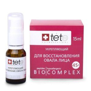 TETe Биокомплекс для восстановления овала лица 45+ (коррекция гравитационного птоза)