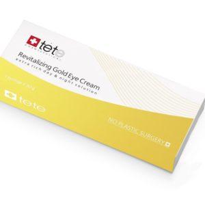 Омолаживающий крем для век с коллоидным золотом  REVITALIZING GOLD EYE CREAM TETe Cosmeceutical