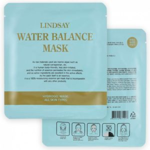Гидрогелевая маска для лица LINDSAY Water Balance Gel Mask