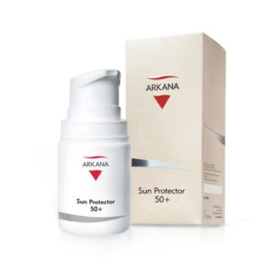 Солнцезащитный тонирующий крем с UVA/UVB-фильтрами 50+ / 50 мл — Arkana Sun Protector 50+