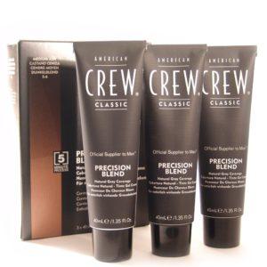 Краска-камуфляж для седых волос American Crew Precision Blend Medium Ash 5-6