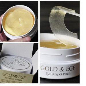 Гидрогелевые патчи для глаз с золотом и EGF — PETITFEE Gold & EGF Eye & Spot Patch 60шт + 30 точечных патчей
