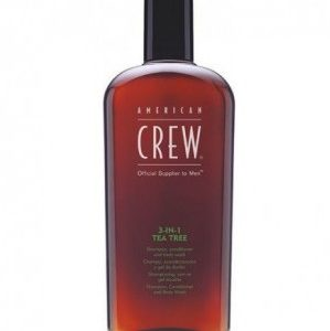 American Crew Tea Tree 3-in-1 Средство по уходу за волосами и телом на основе чайного дерева 3-в-1