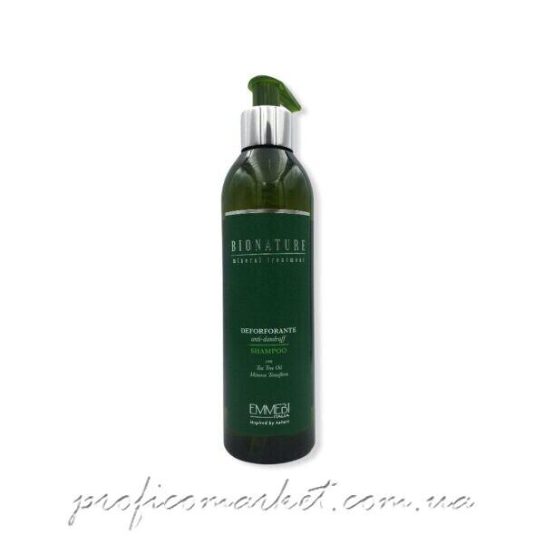 Emmebi Italia Mineral Treatment Deforforante Anti-Dandruff Shampoo Подробнее: https://happyhair.com.ua/ua/p1263529936-shampun-protiv-perhoti.html