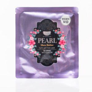 KOELF Pearl & Shea Butter Mask Гидрогелевая маска для лица с жемчугом- 5 шт