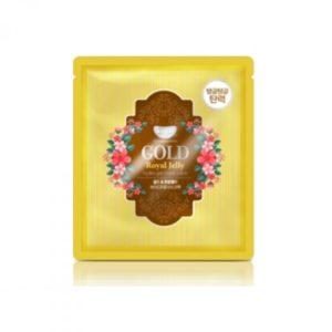 Гидрогелевая маска для лица с золотом KOELF Gold & Royal Jelly Mask- 5 шт