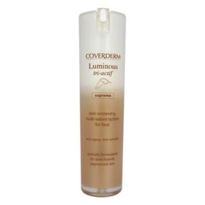 Coverderm Интенсивный осветляющий ночной крем для лица Luminous Supreme Tri-Actif