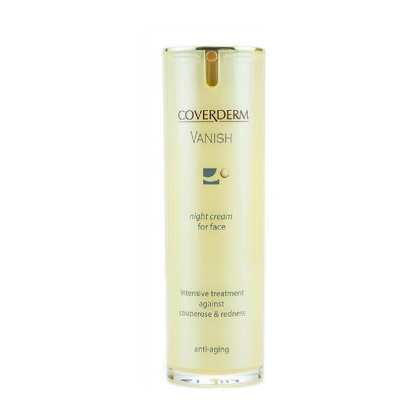 Coverderm (Ковердерм) Vanish Night Cream Couperose & Redness / Крем для лица ночной от купероза