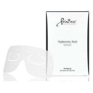 Princess Eye Mask with Hyaluronic Acid and with Aloe Vera Маска для глаз на натуральной основе с гиалуроновой кислотой и алоэ вера