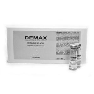 Demax Moistening Line Hyaluronic Acid  Ампулированный концентрат «Гиалуроновая кислота» 10 шт по 2мл