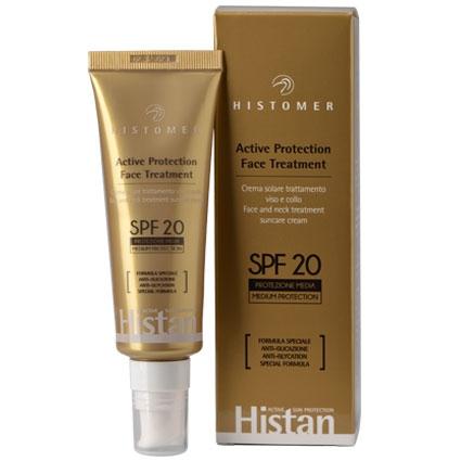 HISTOMER Histan Active Protection Face Treatment SPF-20 - Омолаживающий крем для лица с эффектом анти-гликации