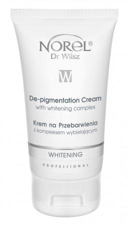 Осветляющий крем для кожи с пигменцией /Whitening - De-pigmentation cream with whitening complex