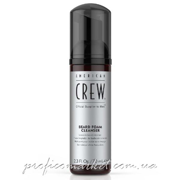 American Crew Beard foam cleanser Очищающая пена для бороды