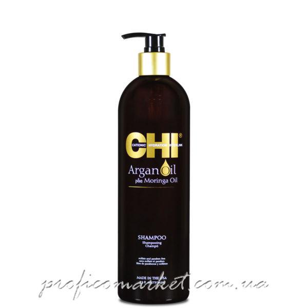 Восстанавливающий шампунь c аргановым маслом CHI Argan Oil Shampoo