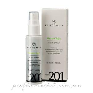 Спрей для тела при проблемной коже Histomer FORMULA 201 green age body spray